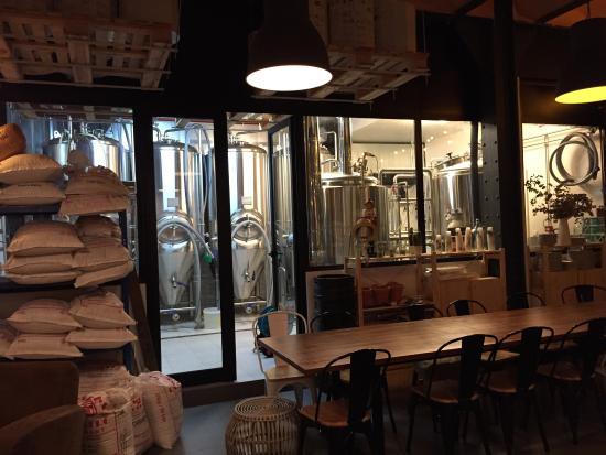 Brasserie bière artisanale barcelone