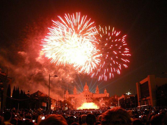 fêtes et tradition barcelone jour de l'an