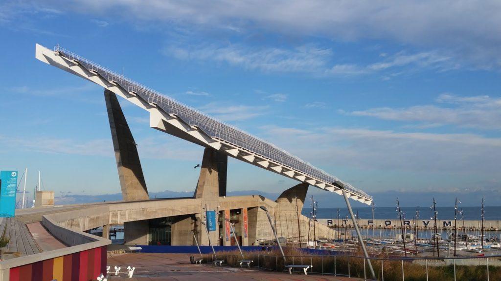 panneau solaire barcelone 1