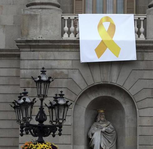 ruban jaune barcelone
