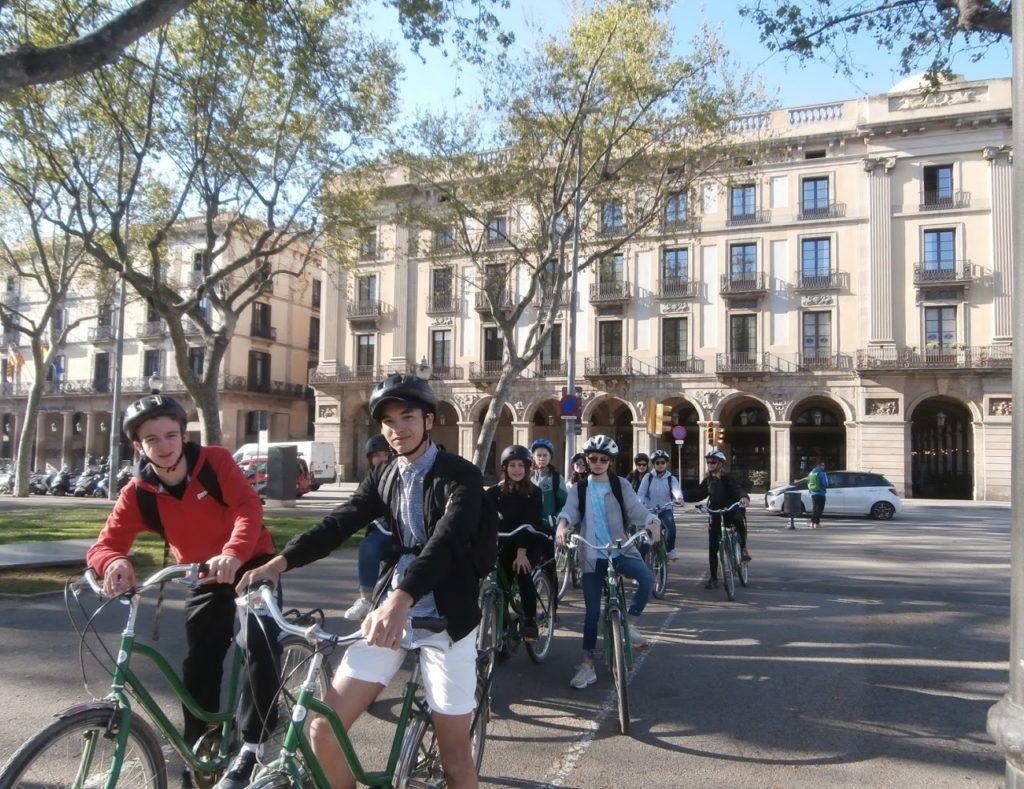 Visite à vélo de Barcelone pour les entreprises