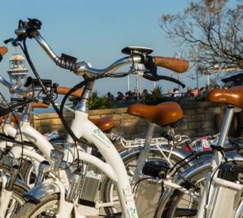 Visiter Montjuic en e-bike