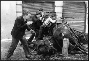 La guerre civile à barcelone
