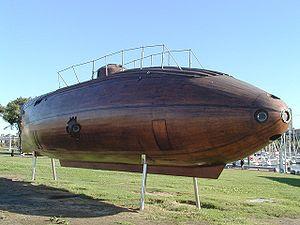Le sous-marin inventé à Barcelone