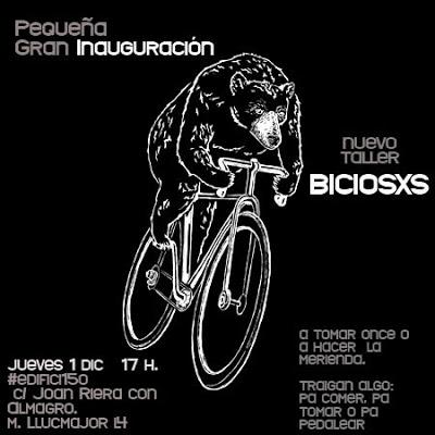 vélo et squatt à barcelone