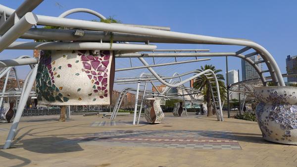 parc insolite barcelone