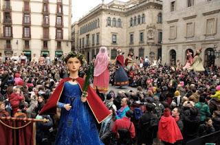 Sainte Eulalie, patronne de barcelone