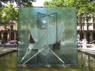 Hommage à Picasso d'Antoni Tapies Barcelone