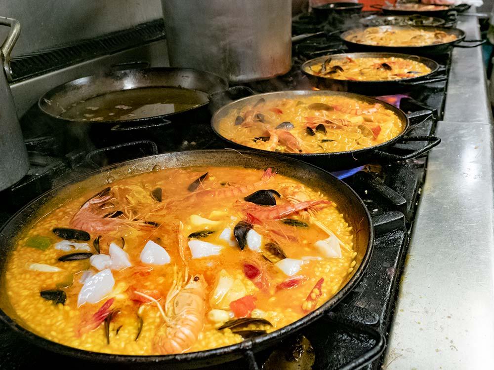 oú manger une bonne paella à Barcelone