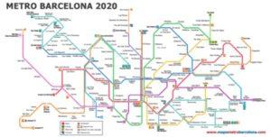 metro barcelone 2020