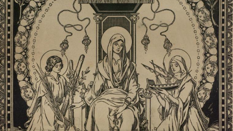 sainte mercé, sainte eulalie et sainte matrone