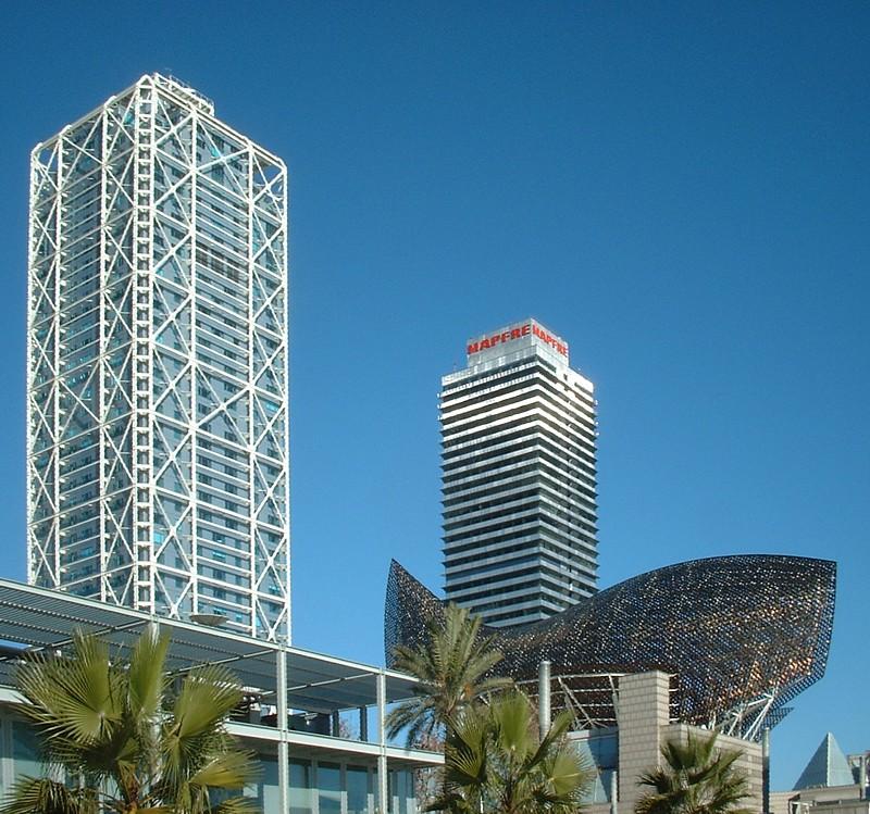 Hotel Arts POisson doré Barcelone