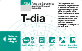 Ticket de metro barcelone