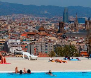 Visite de Barcelone à vélo et à pied