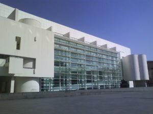 le musée d'art contemporain de Barcelone